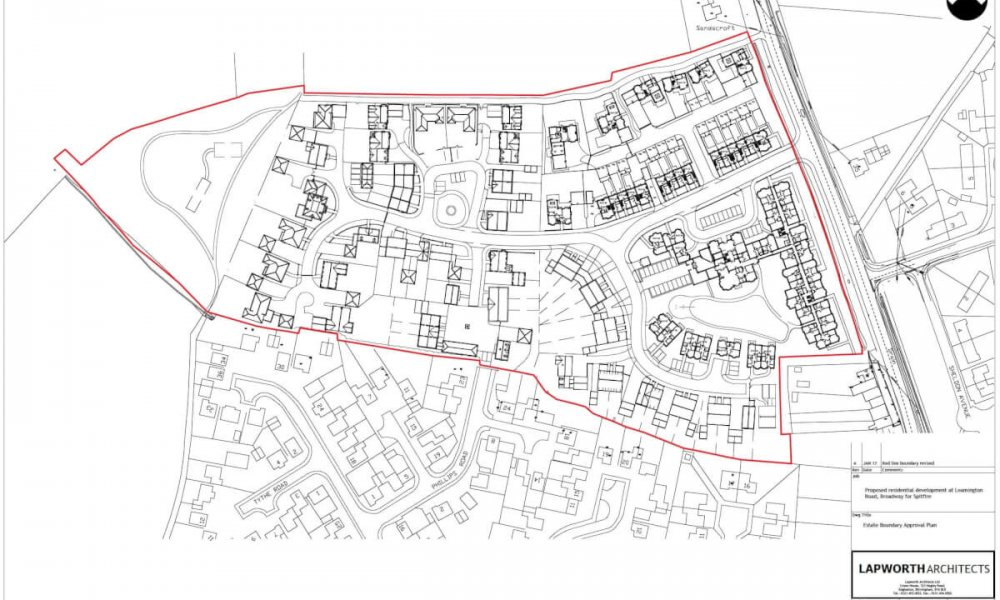 Land Registry Plan - Estate